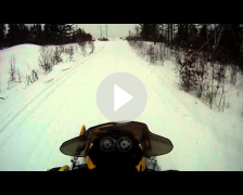 Rippin through trails - MXZ REV 600 carb (500ss) Sno-stuff stinger